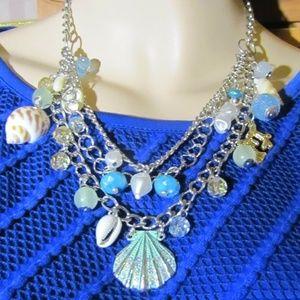Croft & Barrow Nautical Shell Themed Necklace